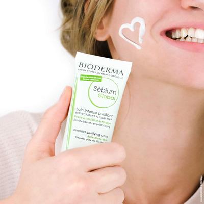 Cremas Bioderma pieles grasas