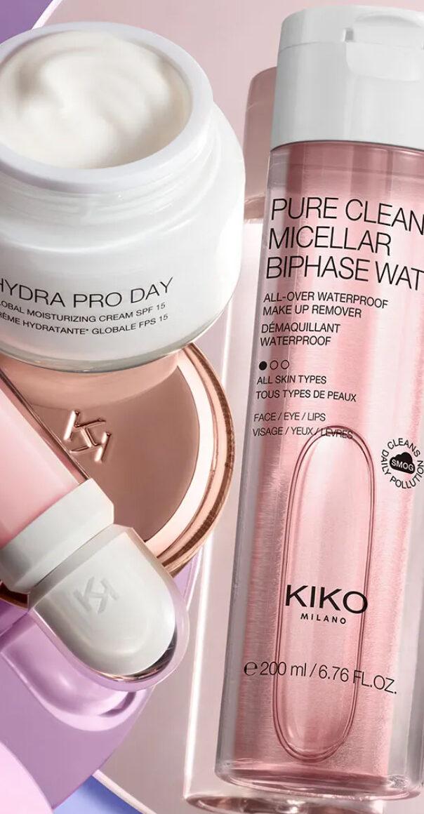 Cremas de Kiko Milano para el rostro